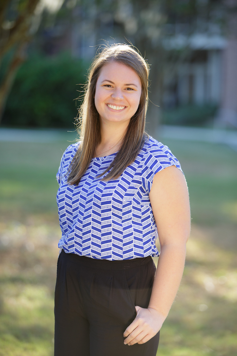 Angela Bundy, Undergraduate Research Assistant Dietmar Siemann Lab, Department of Radiation Oncology, University of Florida