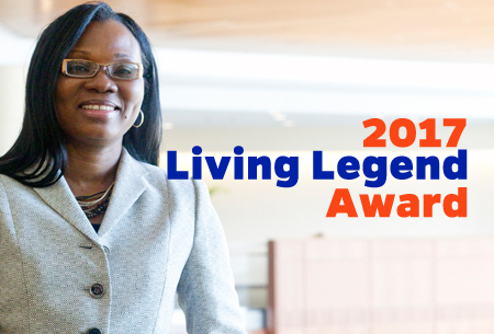 Folakemi Odedina 2017 Living Legend Award