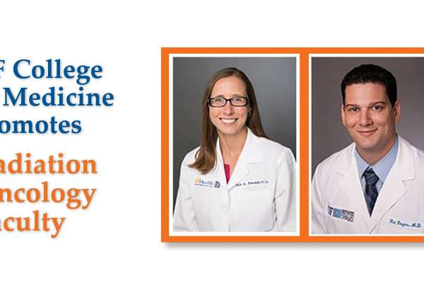 UF Promotes Radiation Oncology Faculty