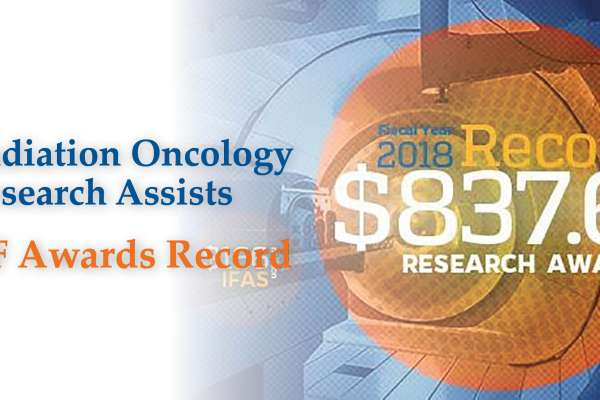 Radiation Oncology assists UF research record