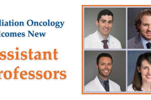 Radiation Oncology Welcomes Drs. Artz, Holtzman, Lockney, Mailhot