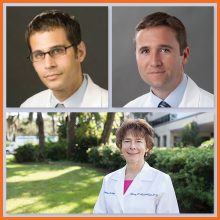 Drs. Brad Hoppe, Daniel Indelicato, and Nancy Mendenhall receive UF Term Professorship Awards