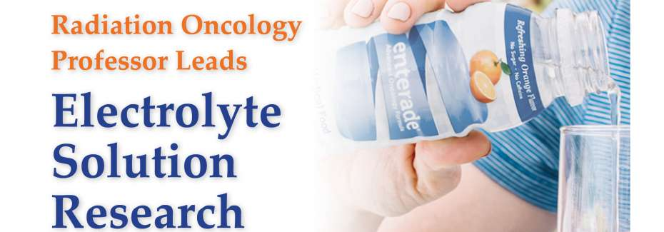 Radiation Oncology Professor leads enterade® research