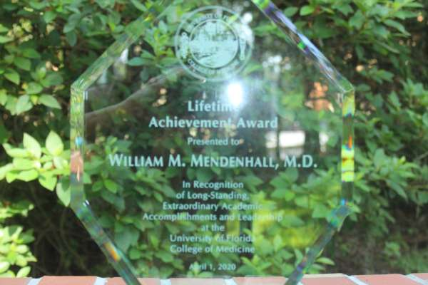 Dr. Bill Mendenhall Receives the 2020 COM Lifetime Achievement Award