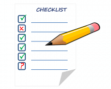 New Patient Checklist