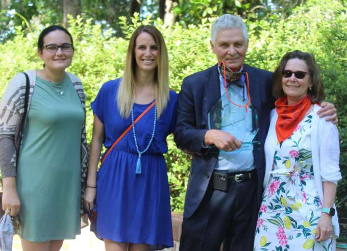 Dr. Nancy Mendenhall and family