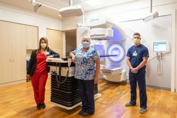 Radiation Oncology's new addition! Our Elekta Linear Accelerator