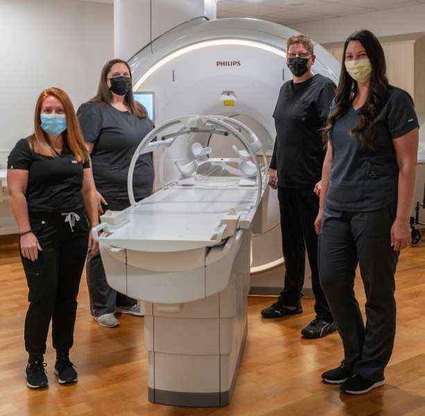 UF Radiation Therapists and the Philips Ambition 1.5 Tesla MR scanner