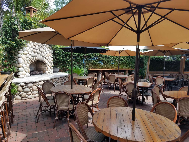 Restaurants are plentiful in the Gainesville area