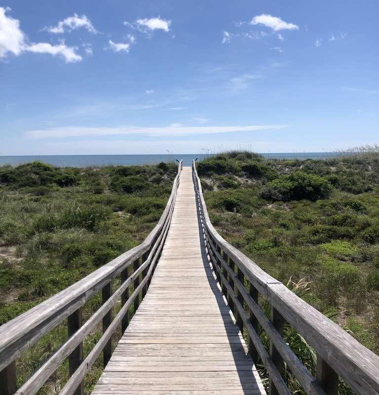 Gulf beaches await