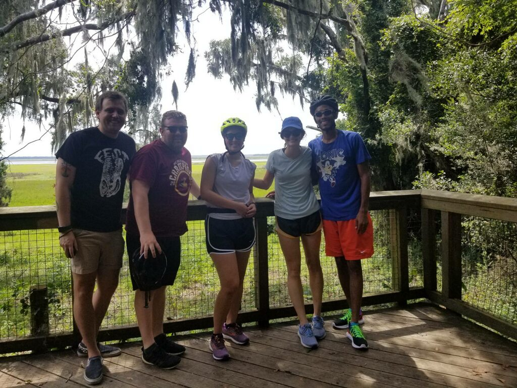 Hiking trails criss cross the Gainesville region